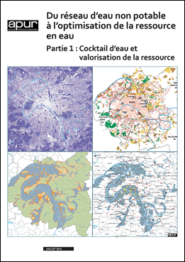 Du réseau d'eau non potable à l'optimisation de la ressource en eau – Partie 1 : Cocktail et valorisation de la ressource © Apur