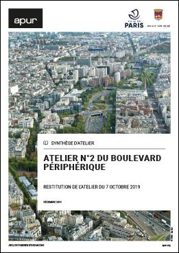 Atelier n°2 du Boulevard périphérique - Restitution de l'atelier du 7 octobre 2019 © Apur