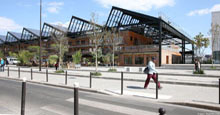 A sensitive urban zone in Pajol, transformation of the covered market © Apur – David Boureau