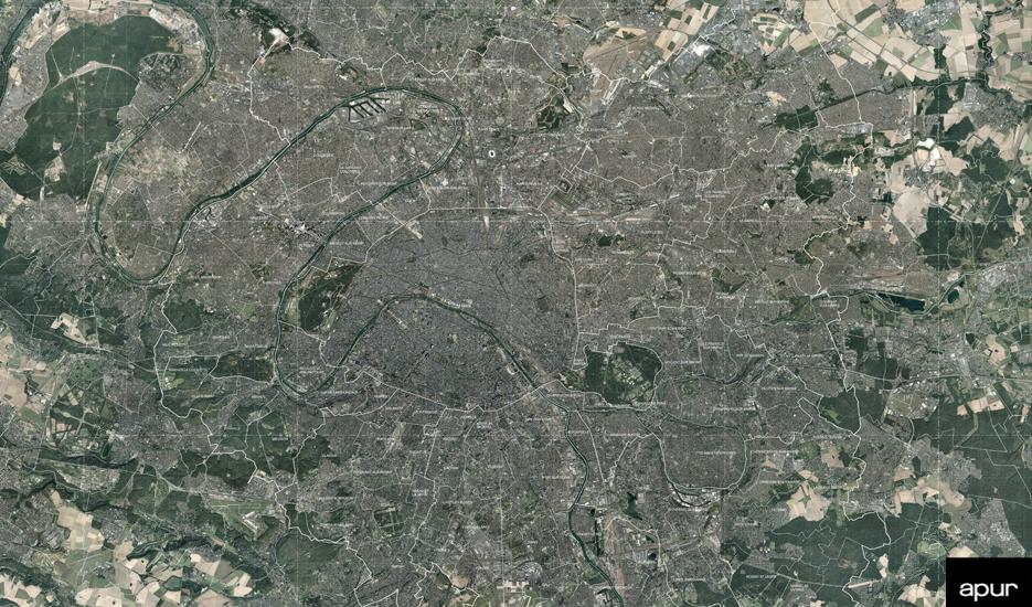 Le Grand Paris, vue du ciel © photo aérienne - 2015 Aérodata