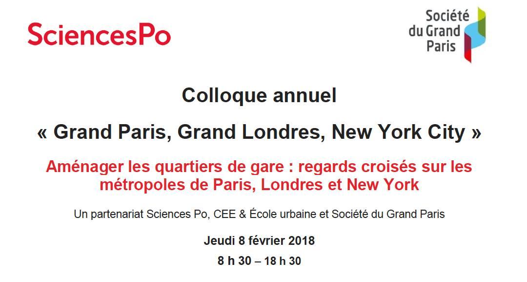 Aménager les quartiers de gare : regards croisés sur les métropoles de Paris, Londres et New York