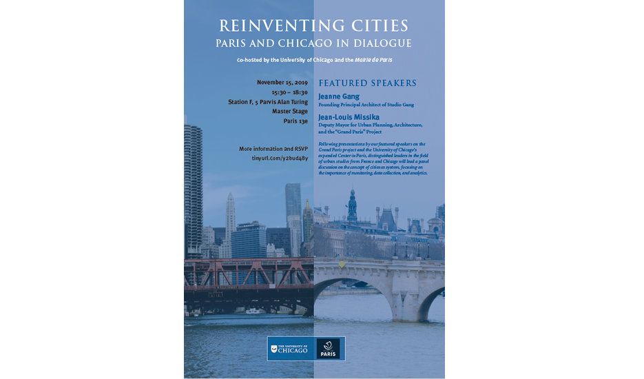 © Reinventing cities - Paris and Chicago in dialogue