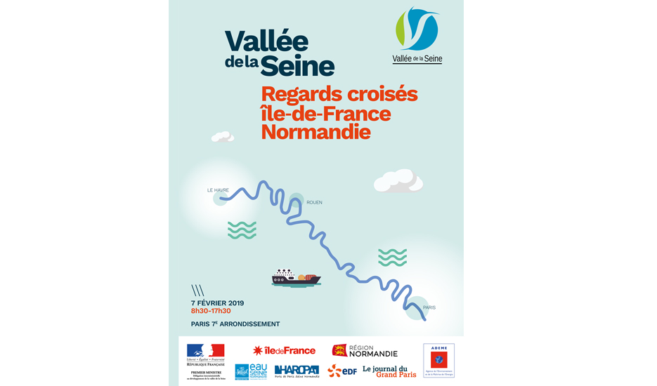 Vallée de la Seine : regards croisés Ile-de-France Normandie © Journal du Grand Paris - DIDVS - Régions IDF et Normandie