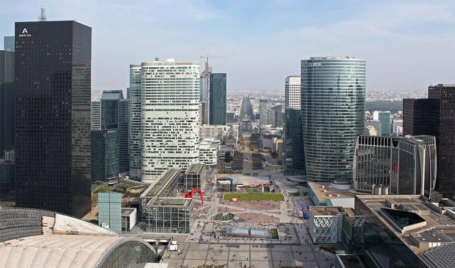 L'esplanade de la Défense © Apur - François Mohrt