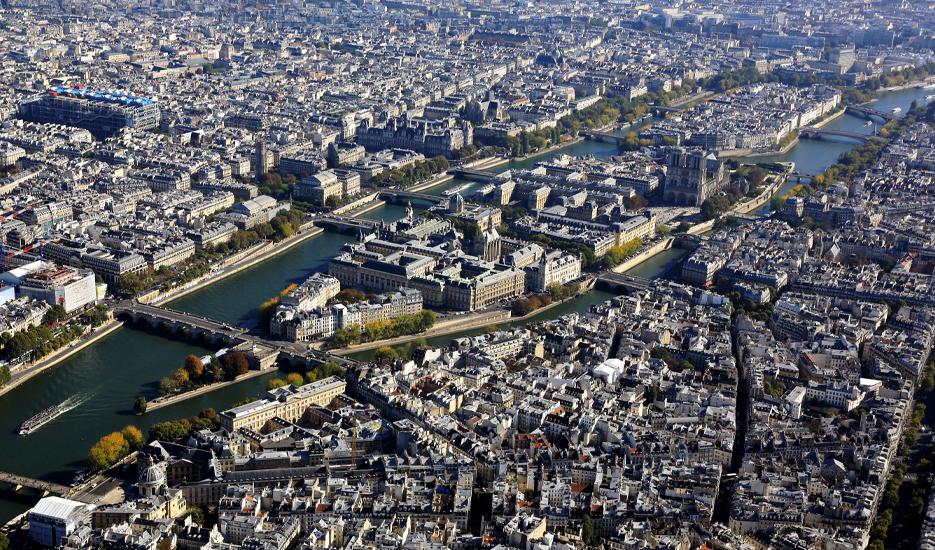 Île de la Cité © Jacques Leroy - Mairie de Paris