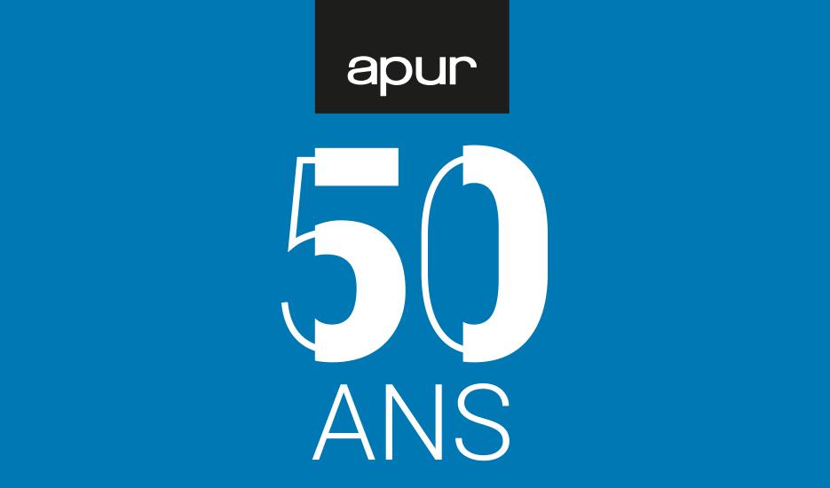 50 ans de l'Apur © Apur