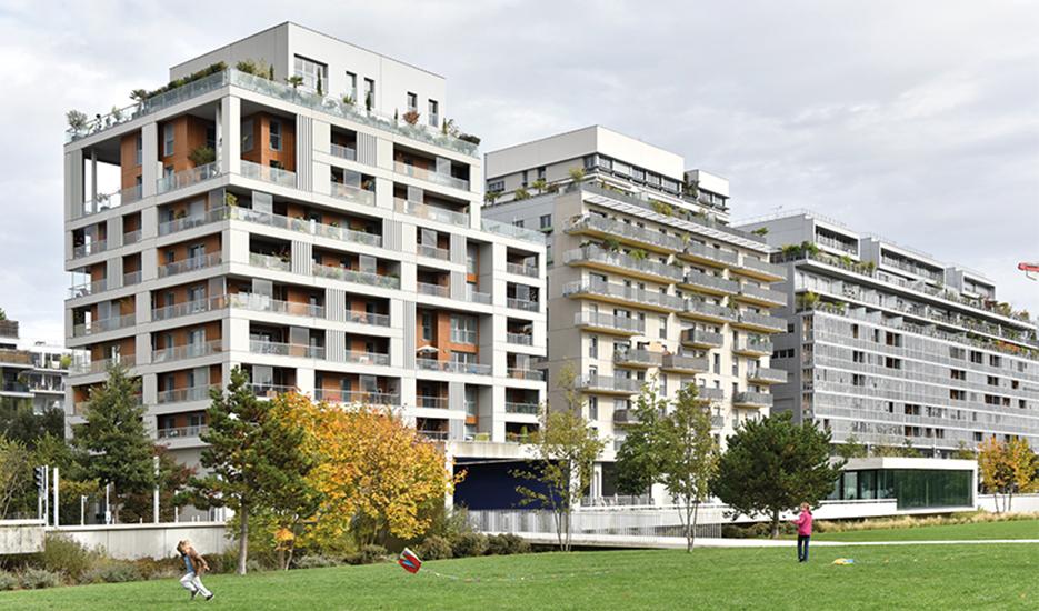 Quartier du Trapèze à Boulogne Billancourt © Apur - David Boureau
