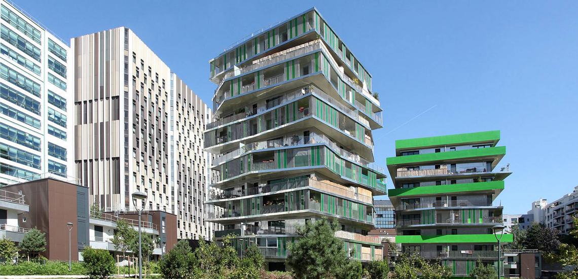 Observatoire du logement et de l'habitat - Habitat collectif, Paris 12e arr. -  62 logements sociaux Paris Habitat - OPH Hamonic + Masson architectes © Apur – David Boureau