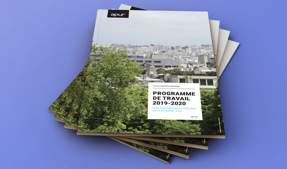 2019/2020 Partnership work programme © Apur
