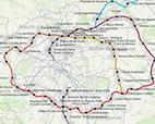 Datavisualisation: observatoire des quartiers de gare du Grand Paris