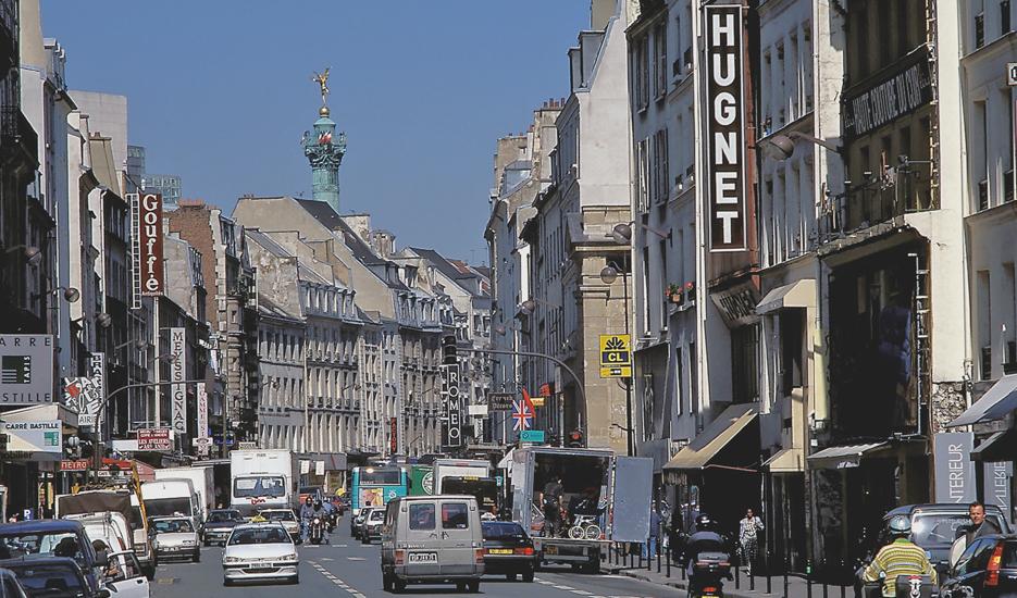 Le faubourg Saint-Antoine, Paris 12e arrondissement © Apur