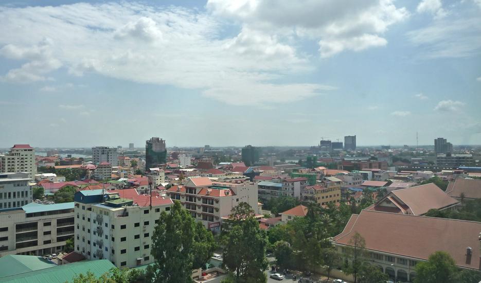 Vue sur la ville de Phnom Penh © Apur