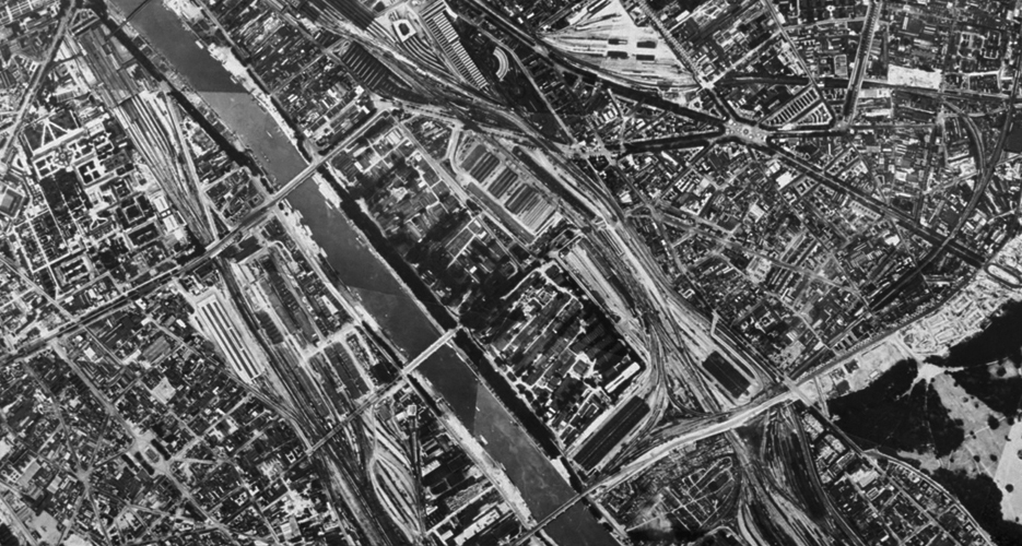 Site de Bercy et gare de Lyon © Conservation au Plan Ville de Paris