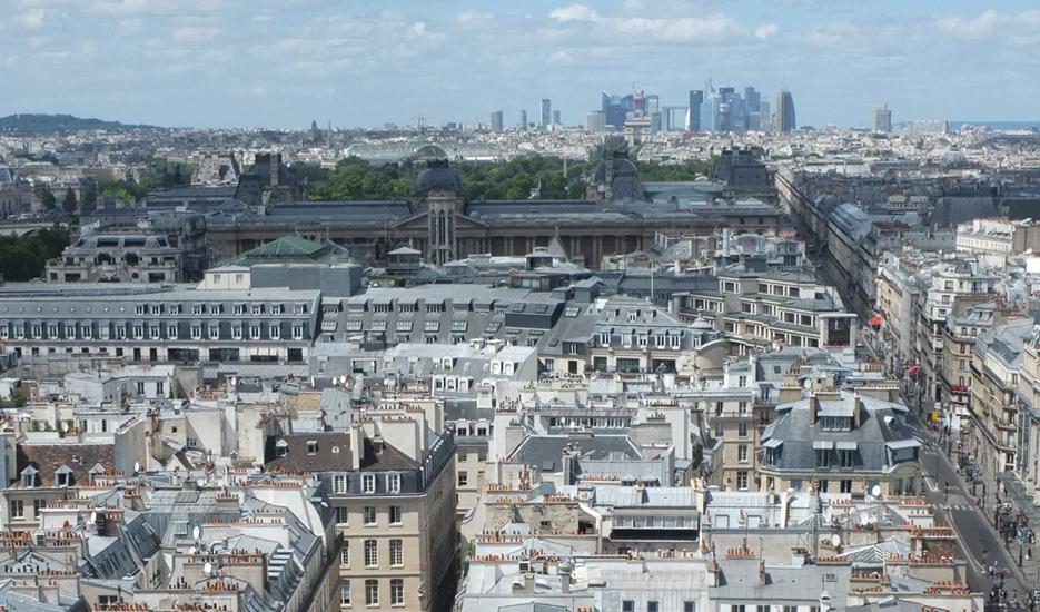 Point de vue depuis la tour Saint-Jacques © Apur Patalagoïty