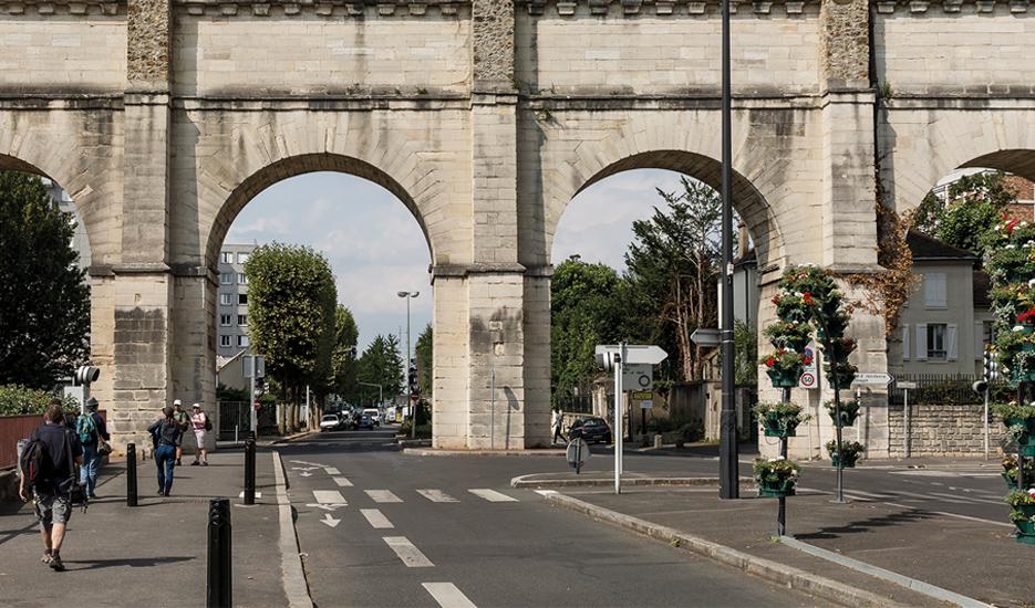 Avenue Cousin de Méricourt - Cachan © Société du Grand Paris - Laurent Villeret