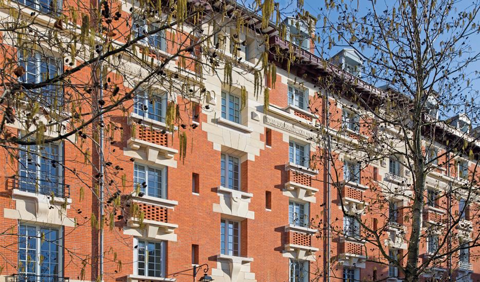 Caserne des Minimes - Paris 3e © Jean-Baptiste Gurliat – Ville de Paris