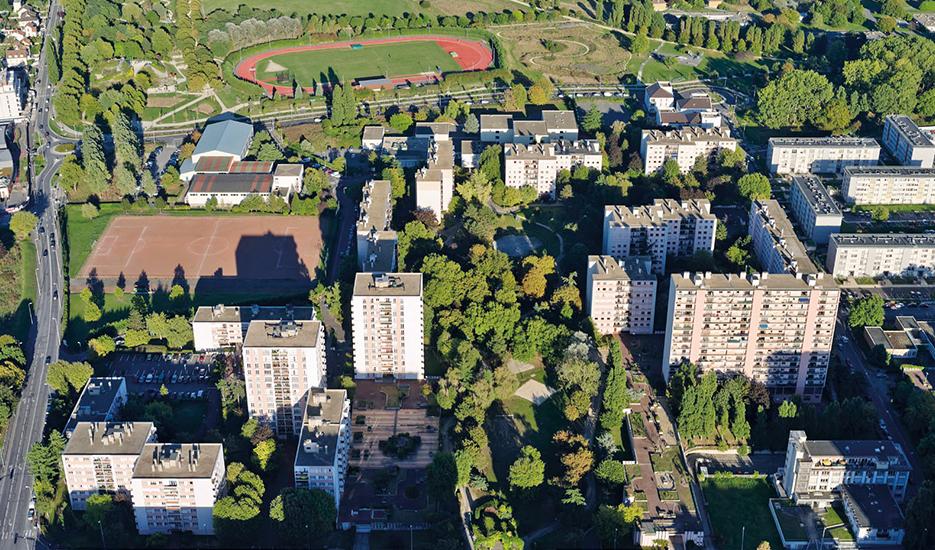 Neuilly-sur-Marne : Le quartier des Fauvettes © ph.guignard@air-images.net