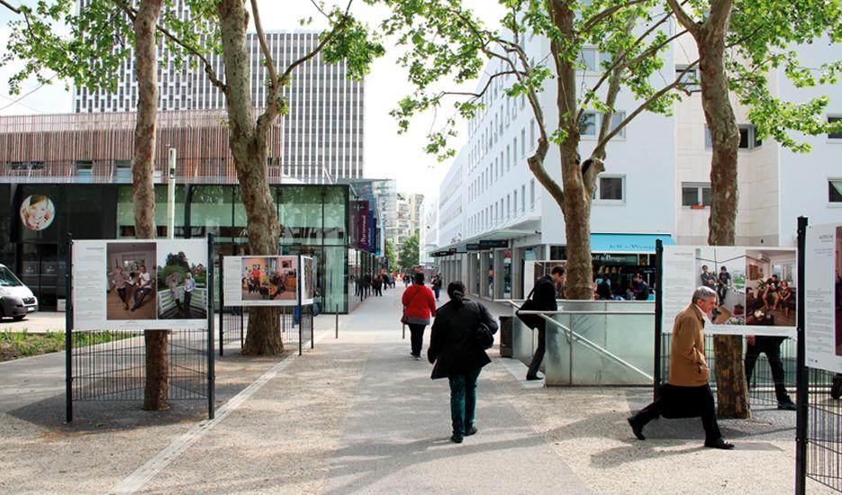 Centre commercial à Mairie de Montreuil  © Apur - David Boureau