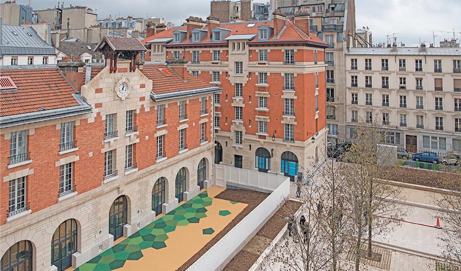 Caserne des Minimes (75003)  © Christophe Jacquet - Ville de Paris
