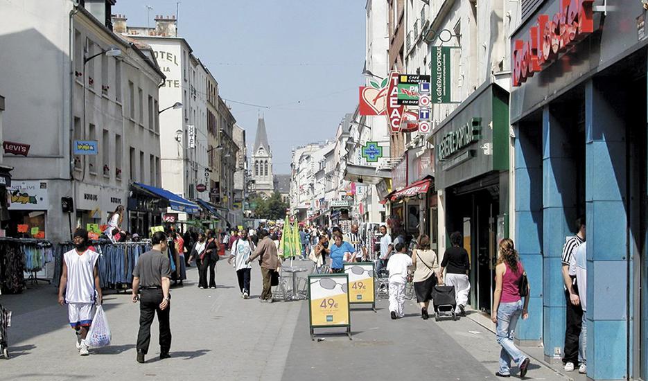 Rue de la République, Saint-Denis (93) © Apur