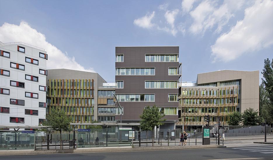 Immeuble de bureaux - Jean Mas, architecte (Ateliers 2/3/4)© Apur - Arnauld Duboys Fresney