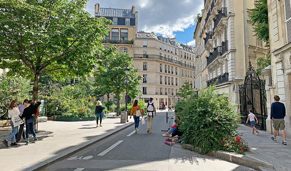 Place Adolphe Max, Paris 9e © Apur