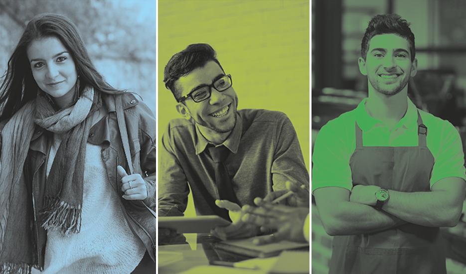 Portraits de jeunes © Mission Locale / Shutterstock