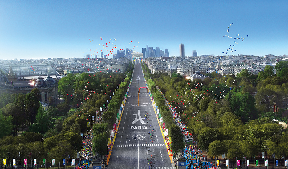 The 2024 Olympic and Paralympic Games, leverage for building Grand Paris © Paris 2024 - Luxigon