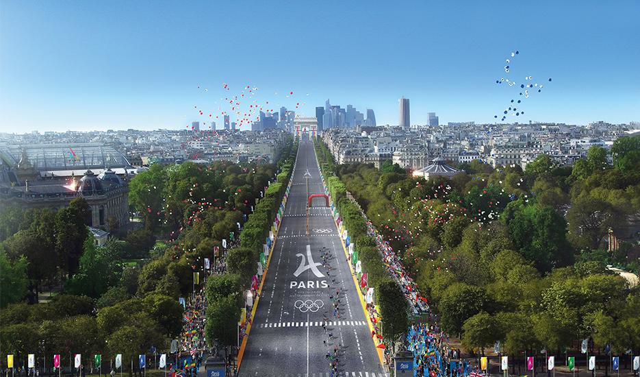 Les jeux olympiques et paralympiques de 2024, un levier pour la construction du Grand Paris © Paris 2024 - Luxigon