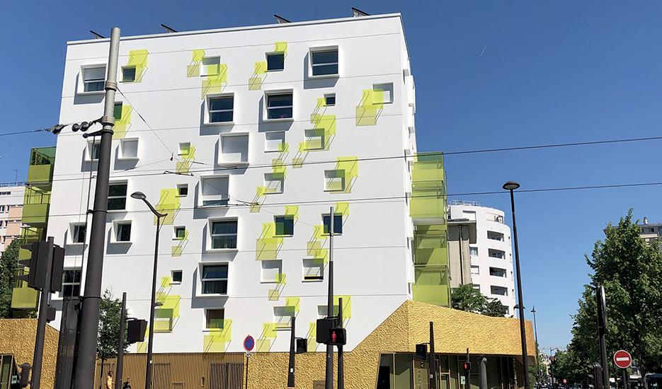 Logements sociaux Boulevard Davout - Paris 20e © Apur