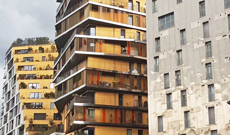 Social housing avenue de France - Paris 13th © Apur - JC Bonijol