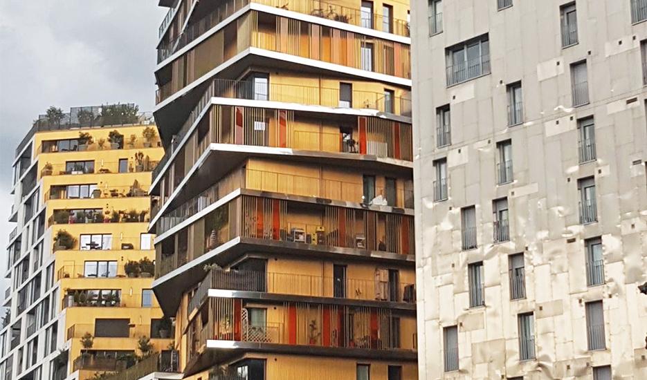 Logements sociaux avenue de France - Paris 13e © Apur - JC Bonijol