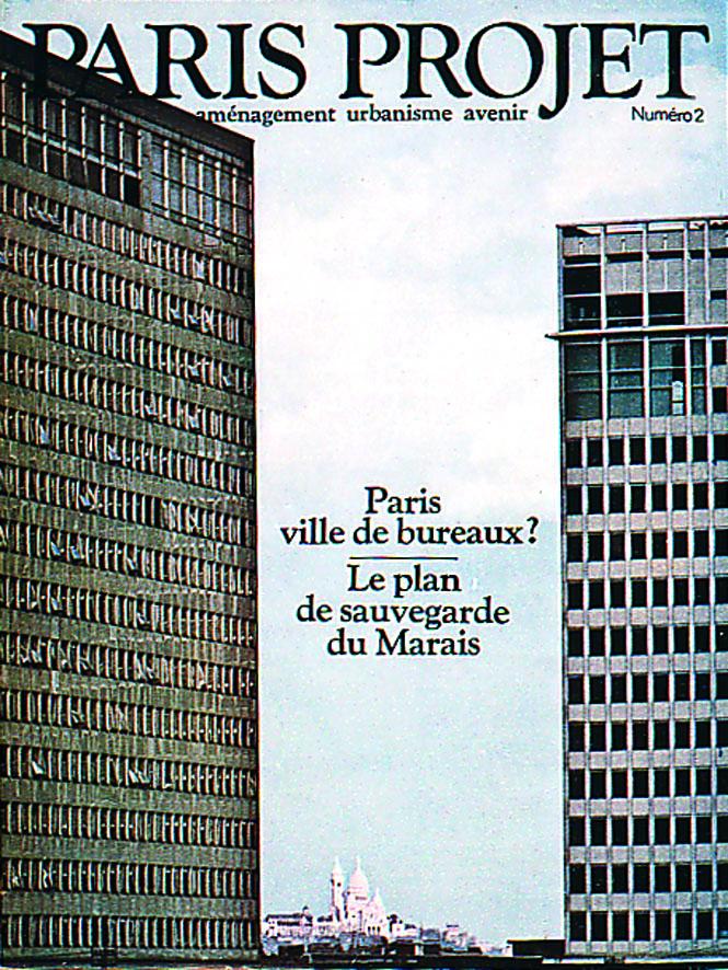Couverture Paris Projet n°2 © Apur