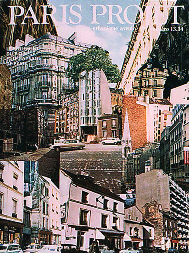 Couverture Paris Projet n°13-14 © Apur