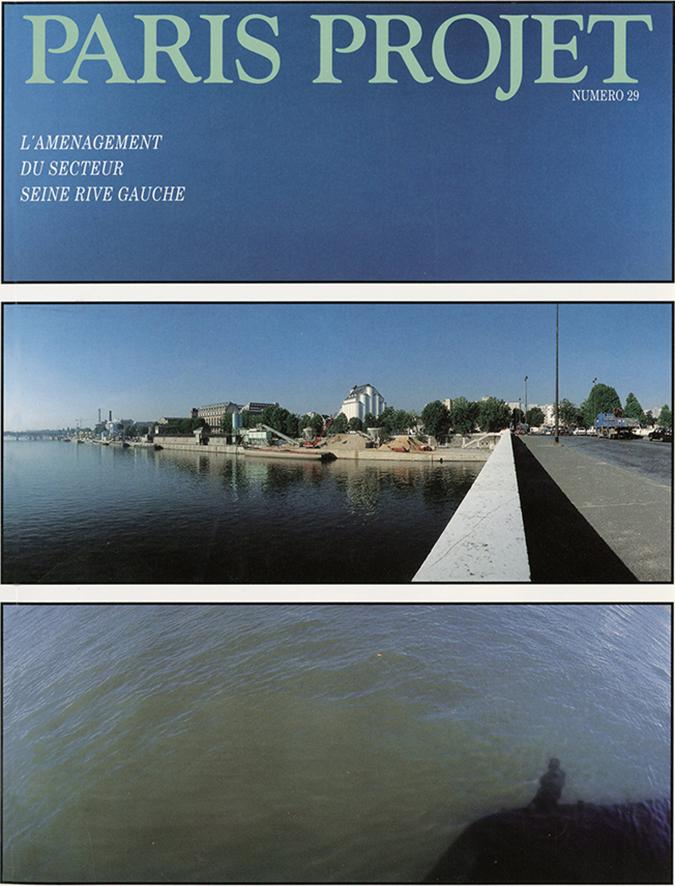 couverture du Paris Projet n°29