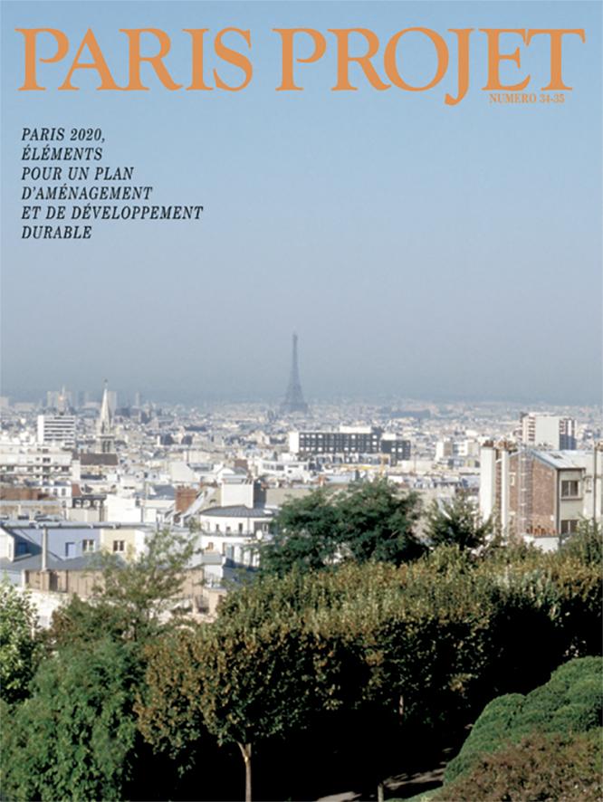 Couverture du Paris Projet n°34-35