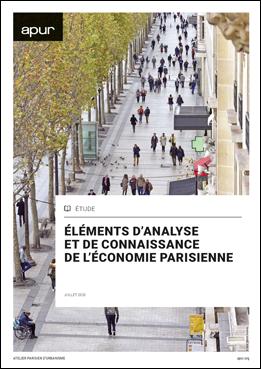 Couverture - Éléments d'analyse et de connaissance de l'économie parisienne © Apur