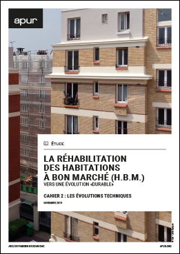 "Renovation of affordable housing (H.B.M) - Towards a ""sustainable"" evolution - Notebook 2: technical developments"