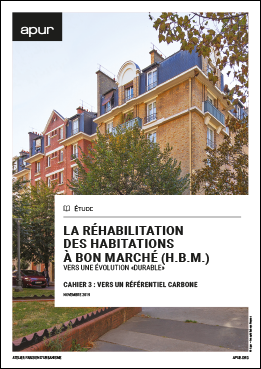 "Renovation of affordable housing (H.B.M) - Towards a ""sustainable"" evolution - Notebook 3: towards a carbon benchmark"