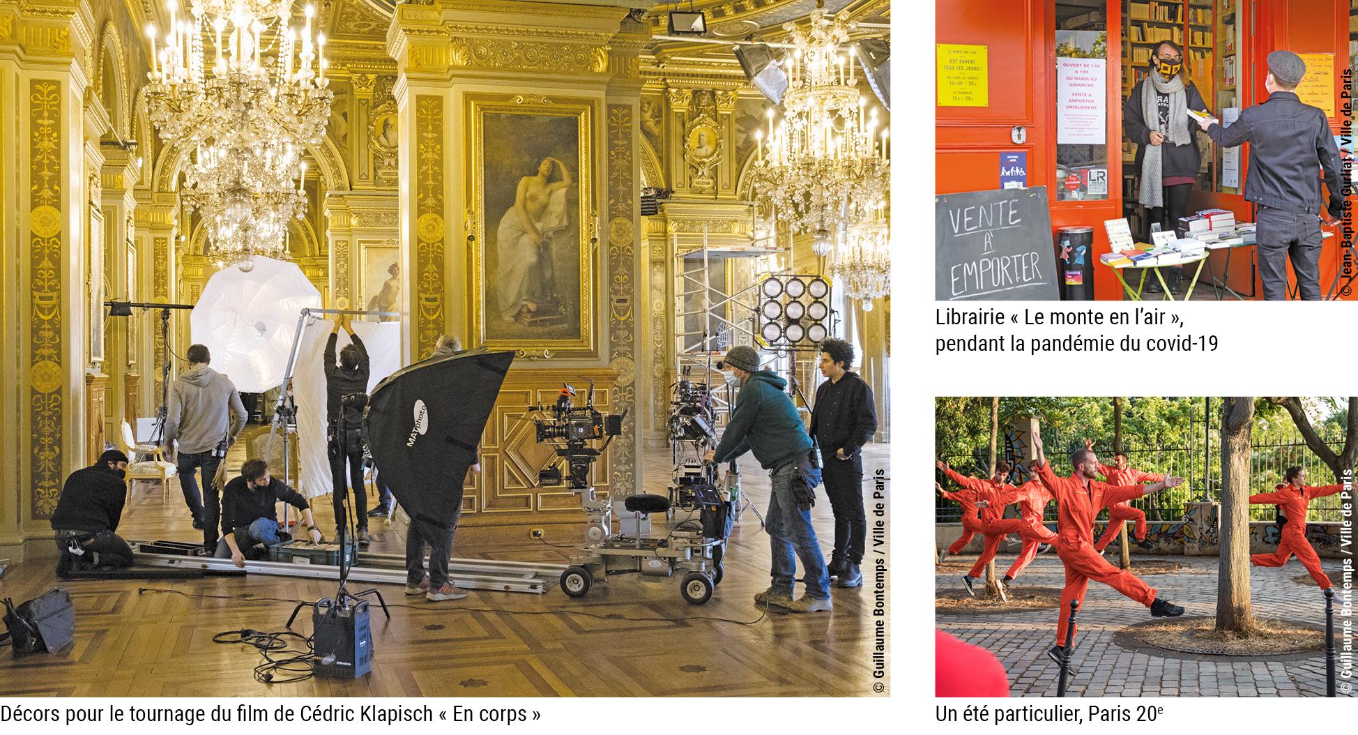 Montage photos © Ville de Paris - Guillaume Bontemps et Jean-Baptiste Gurliat