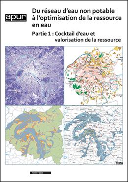 Du réseau d'eau non potable à l'optimisation de la ressource en eau – Couverture de la partie 1 de l'étude