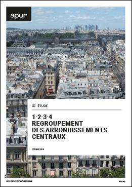 Couverture 1·2·3·4 Regroupement des arrondissements centraux © Apur