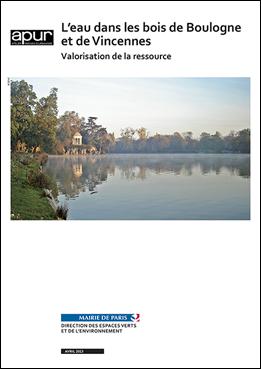 L'eau dans les bois de Boulogne et de Vincennes – Couverture