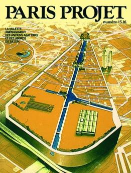 Couverture Paris Projet n°15-16 © Apur