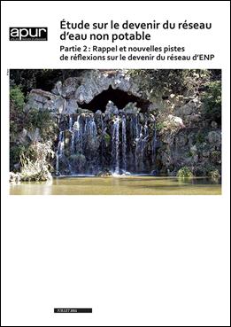 Etude sur le devenir du réseau d'eau non potable, partie 2 – Couverture