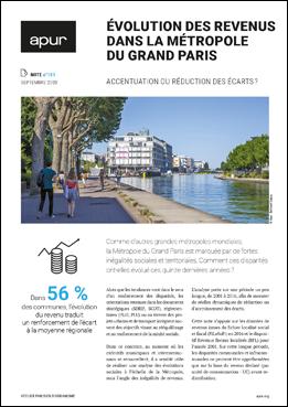 Couverture - Evolution des revenus dans la Métropole du Grand Paris © Apur