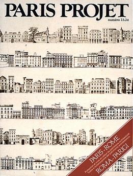 Couverture du Paris Projet  n°23-24