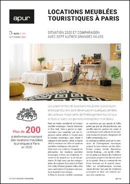 Couverture - Locations meublées touristiques à Paris © Apur
