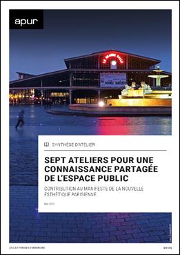 Couverture - Sept ateliers pour une connaissance partagée de l'espace public © Apur