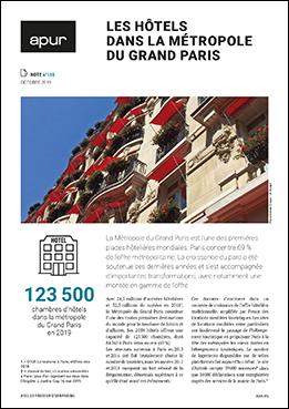 Couverture - Les hôtels dans la Métropole du Grand Paris © Apur